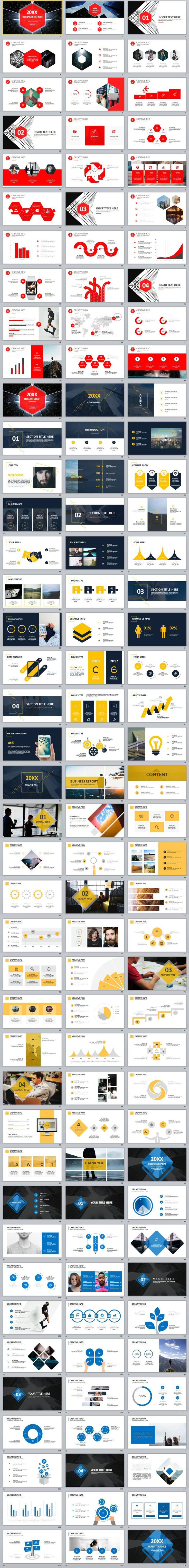 The 25 best powerpoint background design ideas on pinterest ppt 4 in 1 company year cool introduction powerpoint template powerpoint templates presentation animation backgrounds pptwork annual report toneelgroepblik Gallery