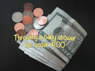 mary from kentucky: Our 'Ready to Pop' baby shower for under $100