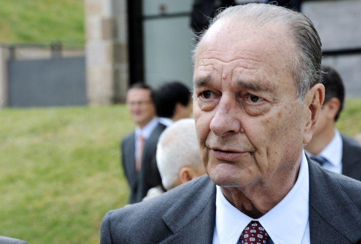 """Jacques Chirac offre à Macron un """"objet très personnel"""""""