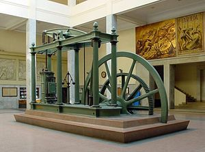 Watt steam engine, 1859