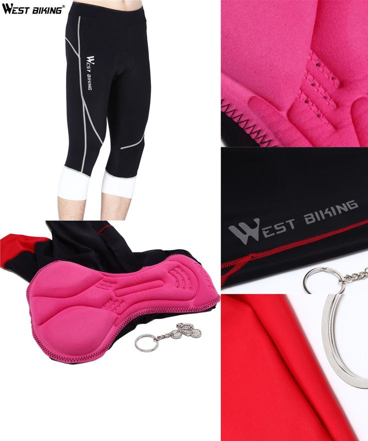 [Visit to Buy] WEST BIKING Women Racing Underwear 3D Pad Cycling Shorts Coolmax Fabric Tight Riding Clothes Pirate Cycle MTB Road Ladies #Advertisement