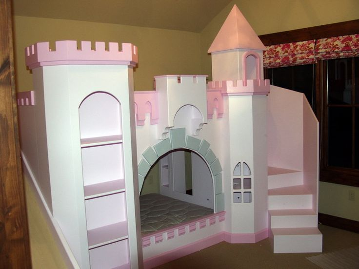 Wrap Around Staircase for Norwich Castle Bunk Bed....can by it done by them or can buy the plans for this and similar to make ourselves when click through to find the plans with links