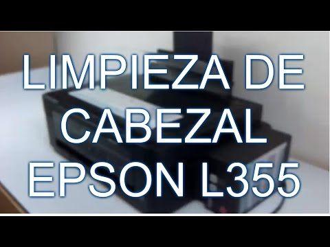 (369) LIMPIEZA DE CABEZAL EPSON L355 DESARME/EMSAMBLE - YouTube