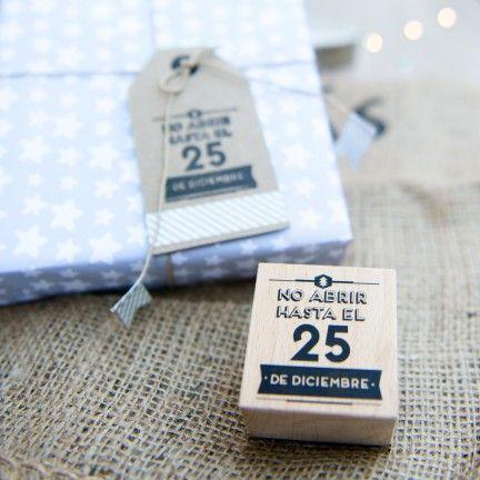 Sello Mr.Wonderful. Se vende en: www.mrwonderfulshop.es #sello #stamp #DIY #navidad #christmas