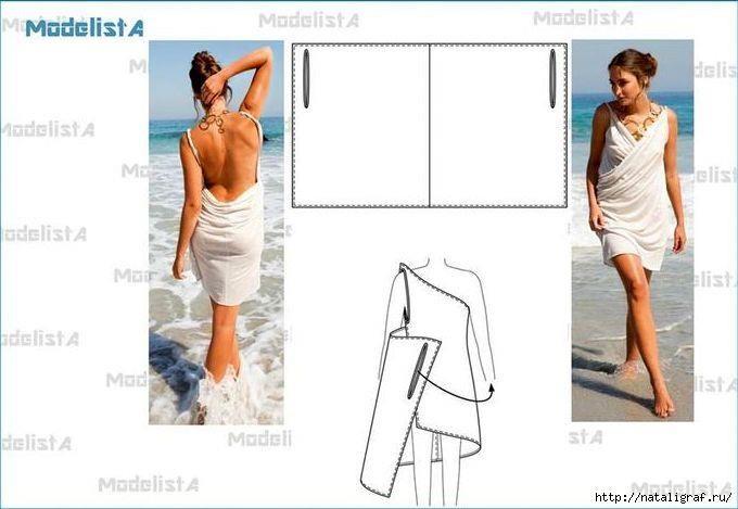 Как называется пляжная юбка парто