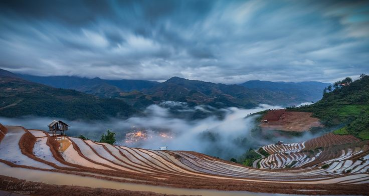 https://flic.kr/p/HZay8G | Hilltop view overlooking Mu Cang Chai | Early morning mist rolls into the valley and shrouds the ever changing terraces