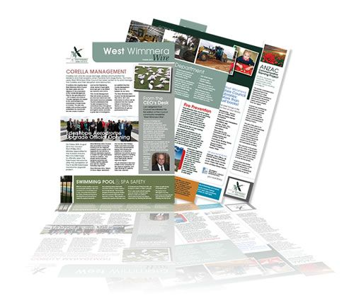 West Wimmera Shire Council newsletter and template files. Layout & design by Phunkemedia Web & Graphic Design http://www.phunkemedia.com