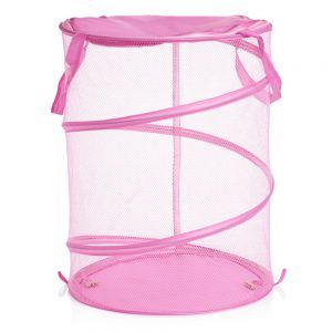Pink Pop Up Storage Bins