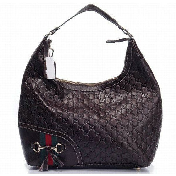 gucci medium hobo bag dark brown 232968 bxs gucci kindom pinterest hobo bags handbags and. Black Bedroom Furniture Sets. Home Design Ideas
