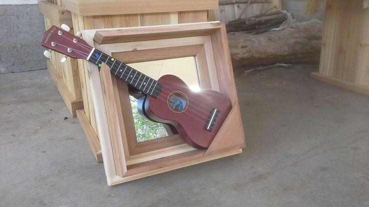Ukulele/Mandolin wall hanger,mirror.