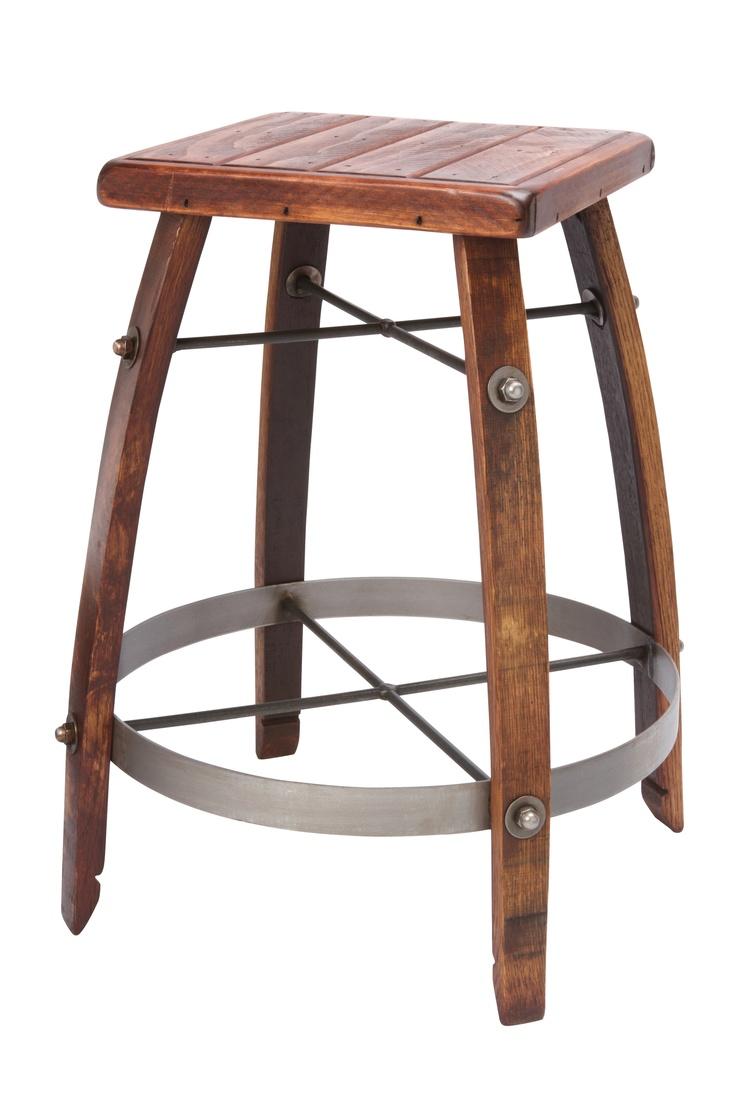 2 dayKitchens, Wood Tops, Barstools, S'Mores Bar, Wine Barrels, Barrels Oak, Bar Stools, Stave Stools, Furniture