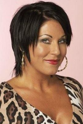Jessie Wallace (Kat Moon), of The Eastenders.  An almost compulsive liar, Kat Moon makes life for husband Alfie range from sad to glad.