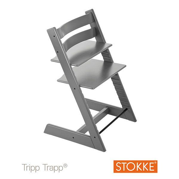 I➨ Vite ! Achetez votre Chaise haute bébé évolutive tripp trapp gris tempête de Stokke à seulement 151€ ! ✓ Livraison gratuite et rapide. Allobébé, n°1 de la puériculture en ligne.