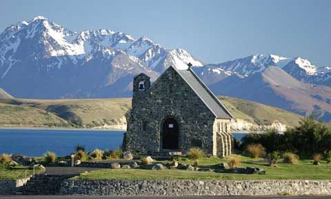 Lake Tekapo: Country Church, Lakes Tekapo, Places To See In New Zealand, Favorite Places, Amazing Places, Shepherd Church, Pretty Places, South Islands, Shepherd Lakes