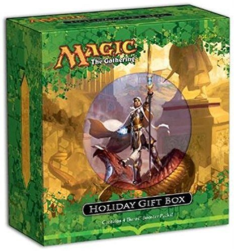 WOCA5739 Holiday Gift Box Magic The Gathering The perfect Magic gift for the holiday shopping season!  The Holiday Gift Box is specially designed to be the go-to gift for holiday shoppers looking to purchase Magic The Gathering cards and accessories for their friends and relatives. It... more details available at https://perfect-gifts.bestselleroutlets.com/gifts-for-holidays/toys-games/product-review-for-magic-the-gathering-2013-theros-holiday-gift-box/