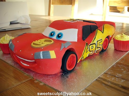 26 best Disney Cars Cake Ideas images on Pinterest Car cakes Cars