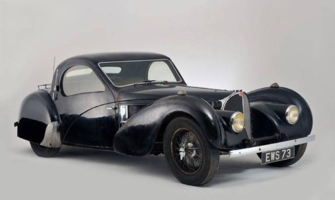 Image © BonhamsThis Bugatti sold for a little over £3m when it was put up for auction in 2009. First owned by Earl Howe - founder of the British Racing Drivers' Club (BRDC) - it was one of only 17 built by the French marque. By 1955, it had ended up in the hands of former army surgeon Dr Harold Carr. In 1960, Carr parked the Bug' in his garage - where it remained until his death in 2007. The contents of the garage were left to his family, who had no idea the car even existed.