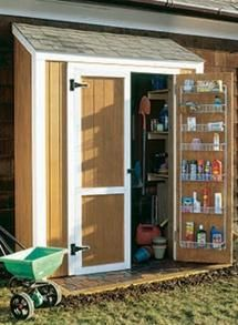 Picture of tools in a small shed - © Scout.com