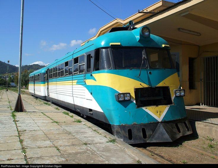 RailPictures.Net Photo: ADIT-256 + AI-256 EMPRESA DE LOS FERROCARRILES DEL ESTADO ADIt-256 Ferrostaal at Constitucion, Chile by Cristian Olguin