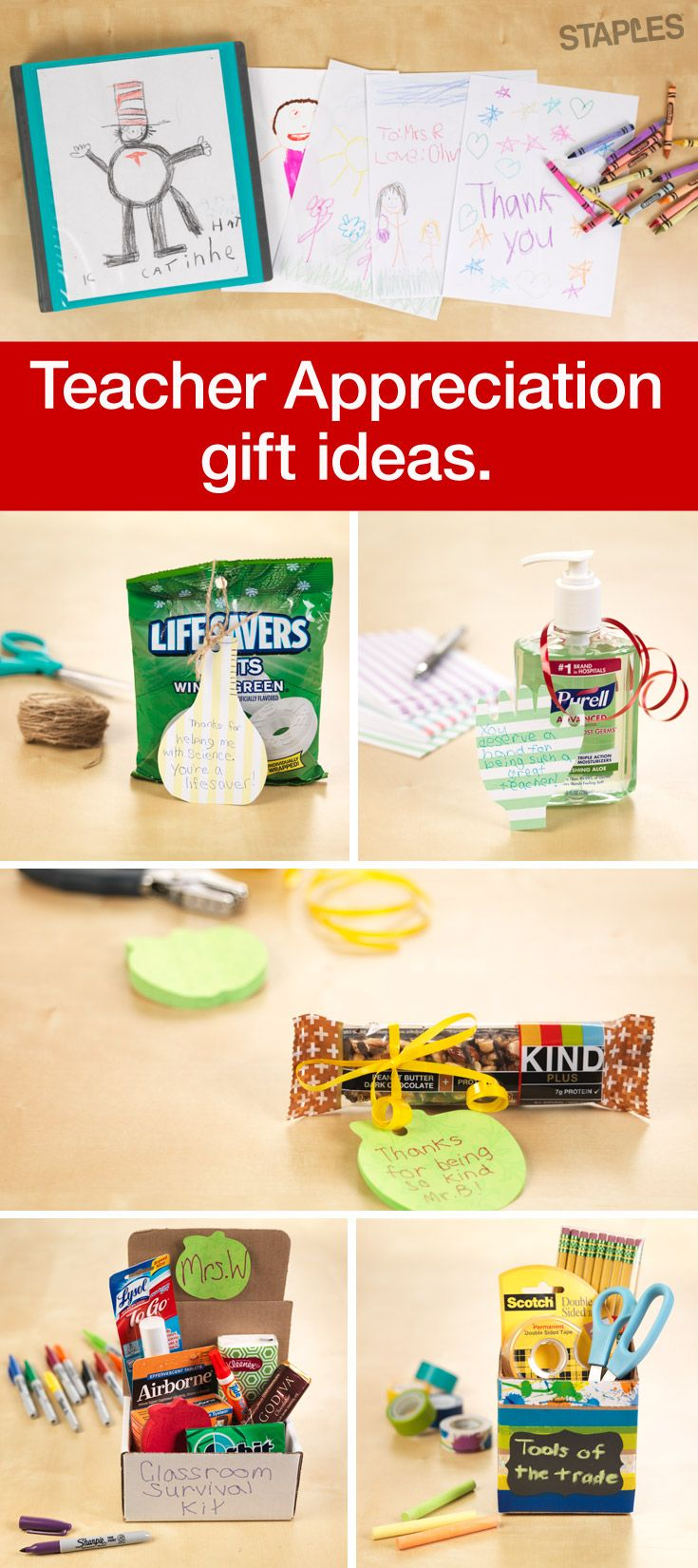 38 best images about teacher appreciation on pinterest Gifts to show appreciation to friend