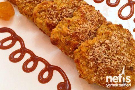 Yağsız Şekersiz Yulaflı Portakallı Diyet Kek