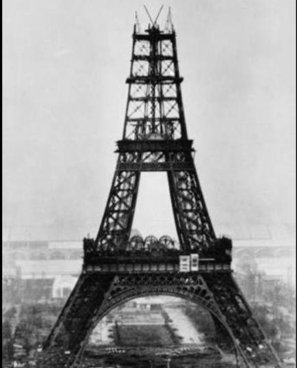 LA TORRE EIFFEL CUMPLE AÑOS, VISTA PANORÁMICA DE PARÍS | serunserdeluz. Construcción de la Torre Eiffel