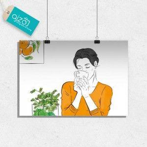 Plakat Pomarańcze popołudniową porą 100x70cm
