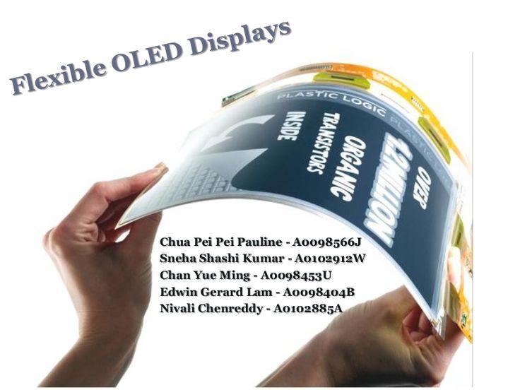 flexible-oled-displays by Jeffrey Funk: Creating New Industries via Slideshare