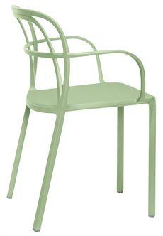 Intrigo från Pedrali är en karmstol som är tillverkad av stål och finns i flera olika färger. #stolar #restaurangstolar #cafestolar #pedrali #dialoginterior