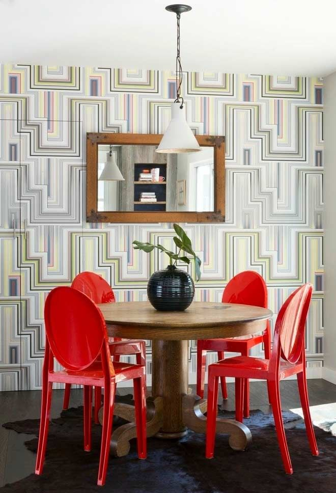 Papel de Parede Para Sala de Jantar: 60 Modelos Lindos (FOTOS) | Sala de  jantar contemporânea, Papel de parede sala, Ideias de decoração