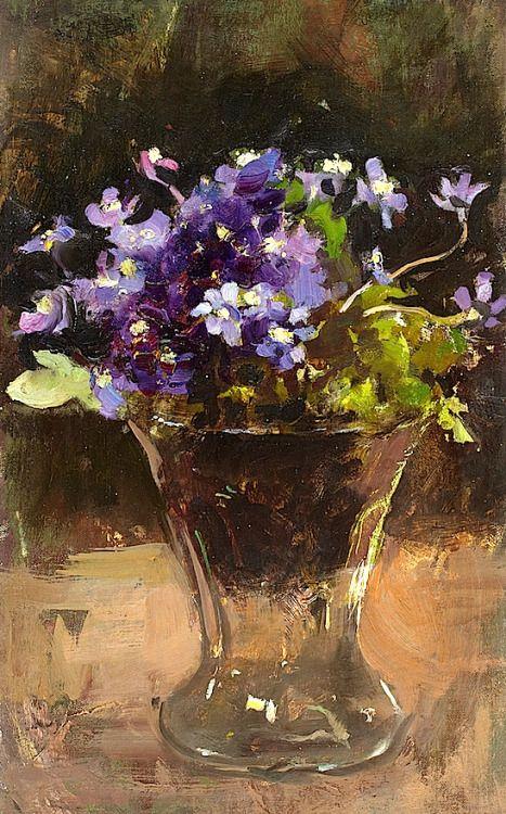 bofransson:  Esther Kjerner 1873-1952. Flower Still Life