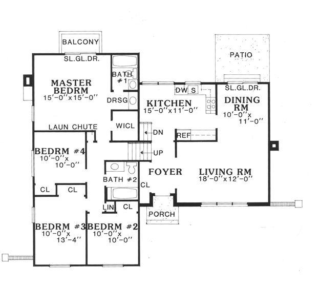 29 best split level images on pinterest wall paint for 3 level split floor plans