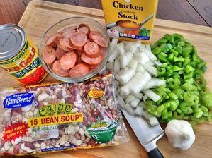 Slow Cooker Cajun 15 BEAN SOUP