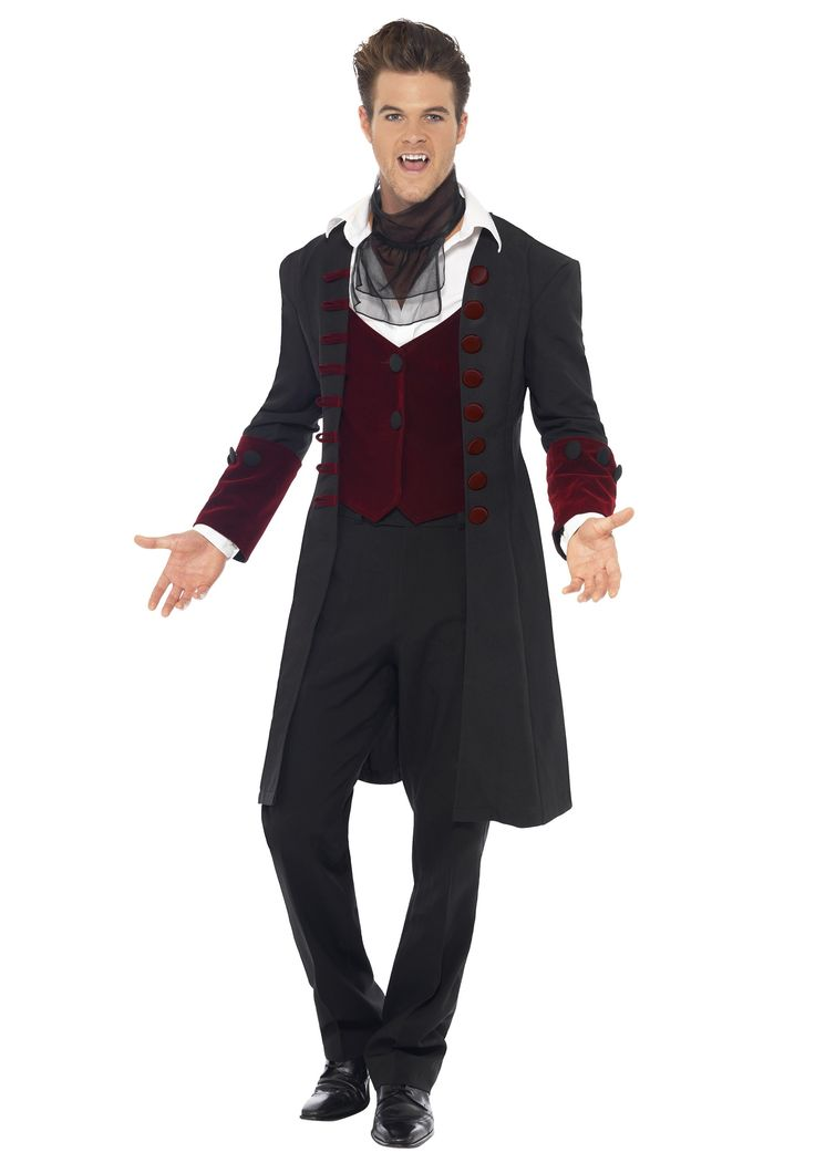 with this menu0027s gothic vampire costume youu0027ll be the epitome of cool cool as a vampire