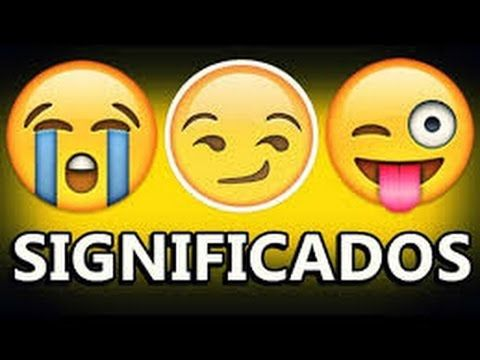 Significado dos Emojis - YouTube