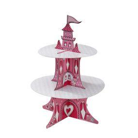 Стенд для капкейков Замок принцессы