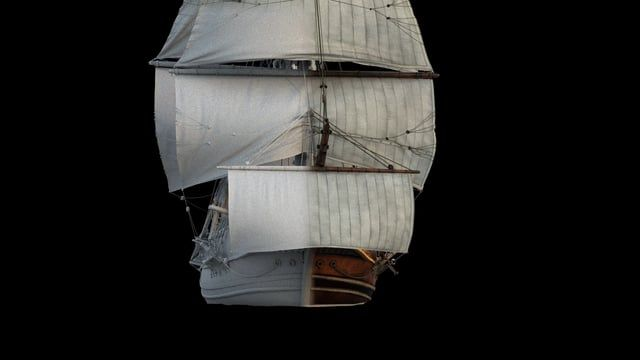 I started working for a personal project. Here you can see a small test I did for ship. I tried to use the ropes massfx. I have used (Maya)ncloth for sails. I think to finish the ship animation after a few corrections. Moreover, it will be Realflow , Tp and FumeFX tests in the coming days.  This project will be my biggest project.