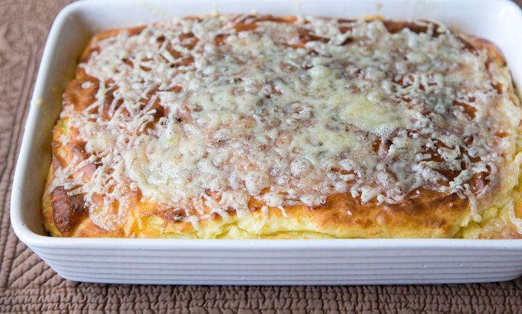 Sarah Sharratt:  Puffed Potato and Cheese Bake