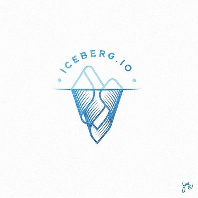 Logo Design | Iceberg logo idea design made by @mr.simc #logoplace…