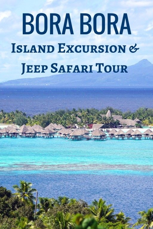 See the highlights from an island excursion and 4x4 Jeep Safari Tour in Bora Bora with kids - French Polynesia with kids