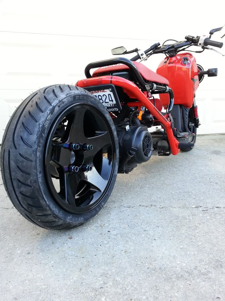 Scooter Wheel Bolts : Best images about modified scooter ruckus on