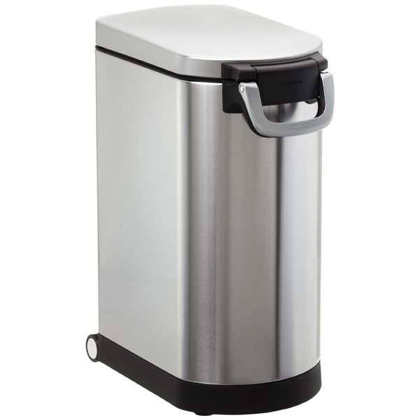 32 lb. Pet Food Container Stainless