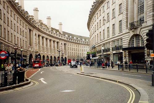 London streets are crazy with the hustle and bustle of people going about their day...