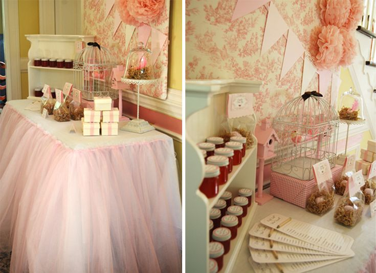 This vintage bird baby shower is perfect for a lovely mama-to-be! Love the colors!