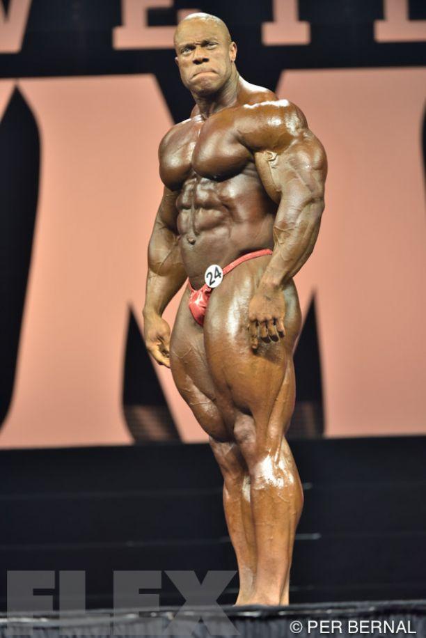Phil Heath - Men's Open Bodybuilding - 2015 Olympia