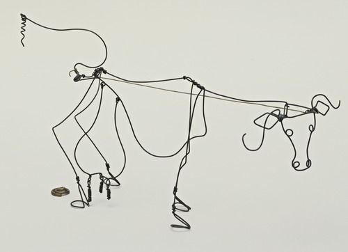 20 best wire sculptures images on pinterest