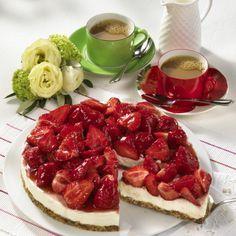 Erdbeer-Mascarpone-Kuchen (ohne Backen)