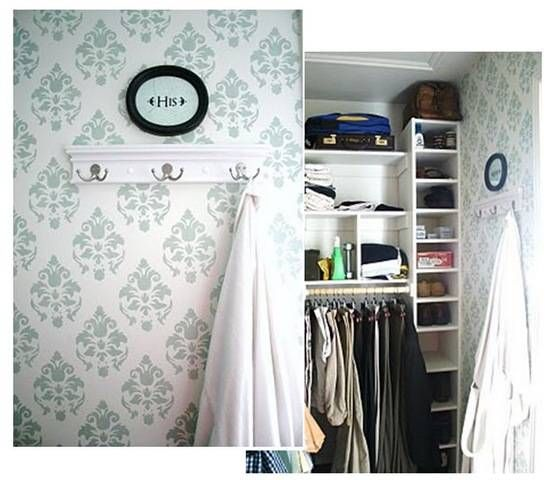 tips for modern stenciled walls