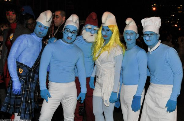 Group Smurf Halloween Costumes #halloweenparty #halloweencostume #halloween #besthalloweencostumes