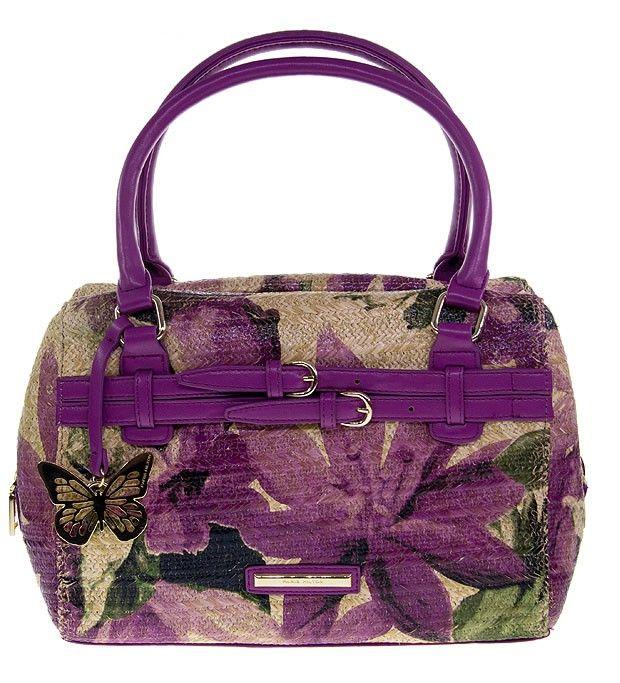 PARIS HILTON Straw Handbag